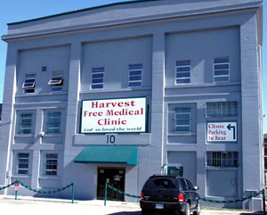 Harvest Free Medical Clinic building